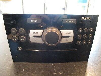 Opel Corsa 06/11 car Radio Original Lecteur CD MP3