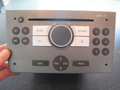 Opel Meriva A 03/10 car Radio Original 003072123033