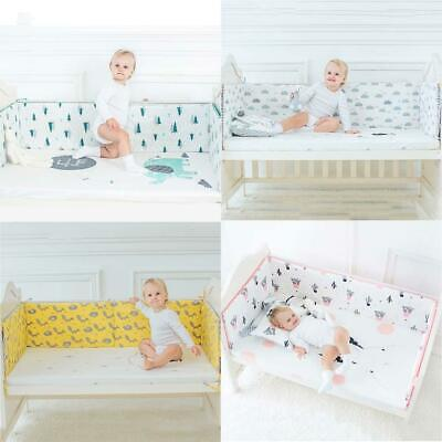 Nursery Baby Bedding Crib Cot Bumper Toddler Bed Comfy Protective Soft Cushion