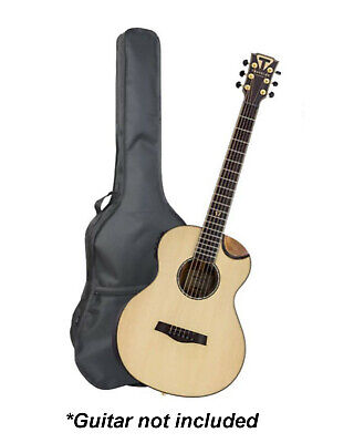 """42"""" Acoustic Guitar Bag Carry Case Full Size For Classical Music Padded Black"""