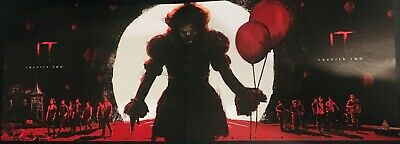 IT CHAPTER TWO OFFICIAL ODEON A4 POSTER (2019) Complete Set