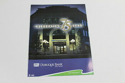 Dubuque Bank & Trust Celebrating 75 Years Booklet Dubuque Iowa DB&T Pictures FAQ
