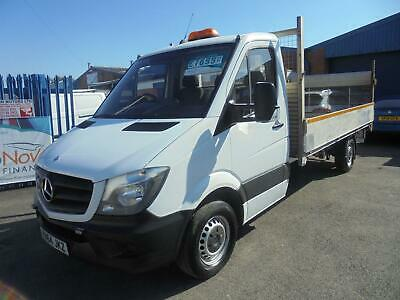 2014/64 Mercedes Benz Sprinter 2.1Cdi 313 Lwb Chassis Alloy Dropside Tail Lift