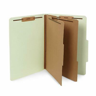 10 Legal Size Classification Folders- 2 Divider-2 in Tyvek,  Legal Size