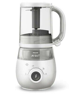 Philips Avant SCF883/01 4-in-1 Healthy Baby Foodmaker, Steaming and blending