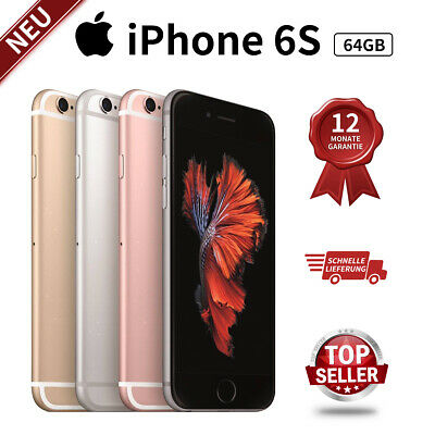 New Apple iPhone 6s 64GB Gold / Rose / Silver /Grey Factory Unlocked Smartphone