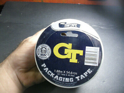 GT Packing tape Ga,Tech Yellow Jackets College Football UGA Bulldogs