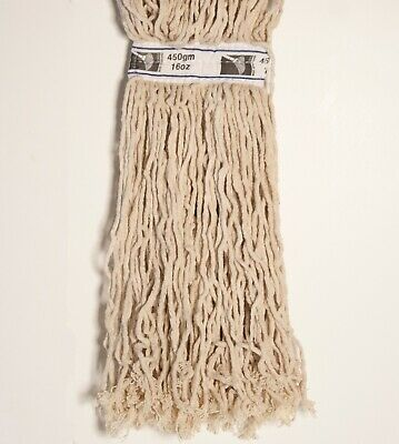 2x Mop Heads Kentucky 450g 16oz Cotton Twine Heavy Duty CHSA Pack of 2 Only £9