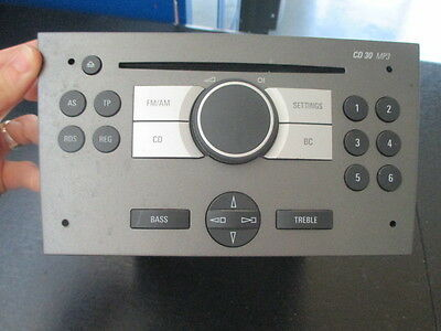 Opel Meriva A 03/10 car Radio Original 003078204996
