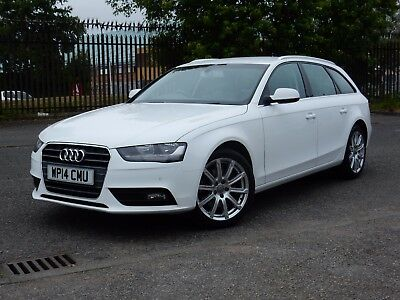 AUDI  A4 20tdi AVANT  AUTOMATIC  Nav,  ( HI SPEC). in WHITE