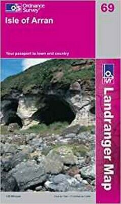 Isle of Arran (Landranger Maps), Ordnance Survey, New Book