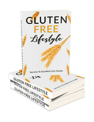 Gluten Free Lifestyle eBook PDF With Master Resell Rights+Free Shipping