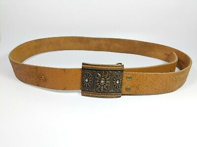 Olly & Co Tan Leather Belts Medium/Large
