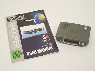 Snooper S4 Neo Camera Detector with Hand Book