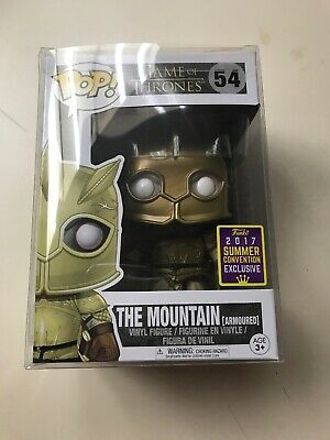 Funko Pop! Television: Game Of Thrones The Mountain Armoured SDCC Shared Sticker