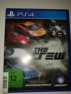 The Crew (Sony PlayStation 4, 2014, DVD-Box)