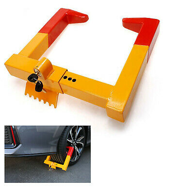 Wheel Lock Clamp Boot Tire Claw Trailer Steel Car Truck Anti-Theft Towing Lock