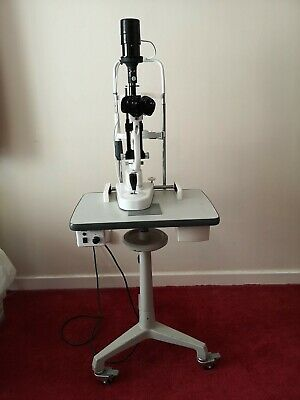 Slit Lamp with table and accessories