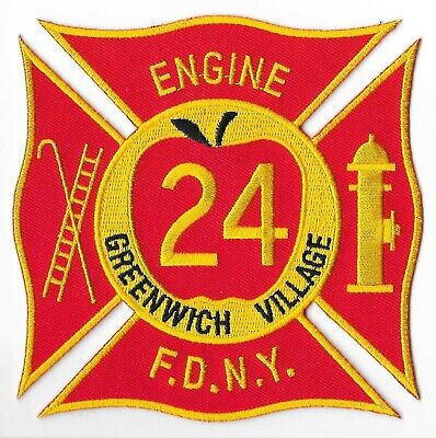 New York City Fire Department (FDNY) Engine 24 Patch V2