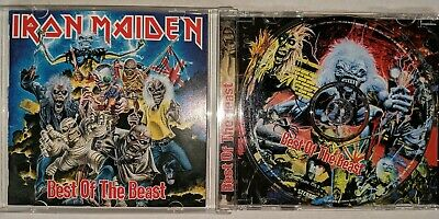 Iron Maiden Best Of The Beast First Press CD