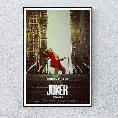 The Joker DC Comics Promotional Film Movie Glossy Print Wall A4 Poster