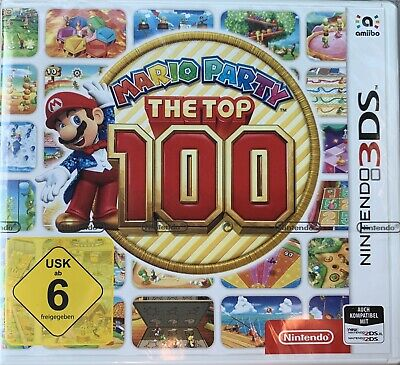 Mario Party Top 100 (New Nintendo 3DS, 2017) - Spiel - NEU & OVP!