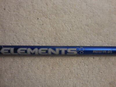 UST Mamiya Elements He Prototype 6F5 X flex driver shaft with Titleist Adapter