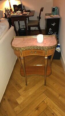 Antique Kingswood Marble Top And Ormolu Table.
