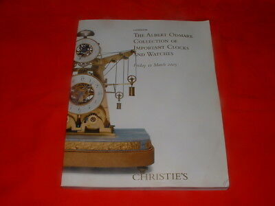 Christie's – The Albert Odmark Collection of Important Clocksand Watches 2005