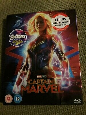 Marvel Captain Blu Ray With Slipcase - New / Sealed
