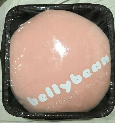 The Bellybean Maternity Pillow Colour: DUSTY PINK