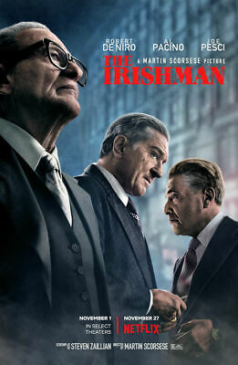"The Irishman  ( 11"" x 17"" ) Movie Collector's Poster Print ( T2 )- B2G1F"