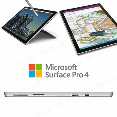 "Microsoft Surface Pro 4 12.3"" m3-6Y30 128GB Wi-Fi Multi-Touch Tablet - Silver"