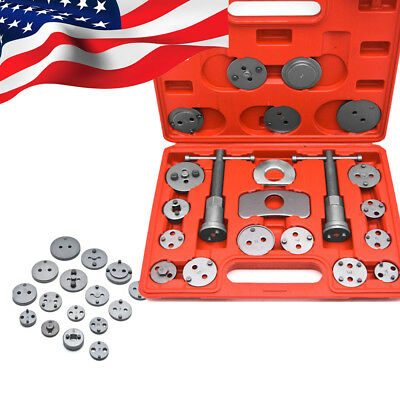 Great! Disc Brake Caliper Piston Pad Car Auto Wind Back Hand Tool Set 21 pcs Kit