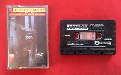 Depeche Mode Black Célébration STUMM26 Audio Cassette K7 Bon Condition
