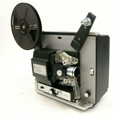 Vintage Bell & Howell Autoload Super 8 Film Movie Projector Model 462A In Box