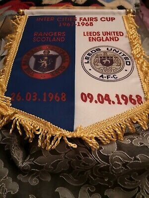 Large Leeds United inter City fairs Cup 1968