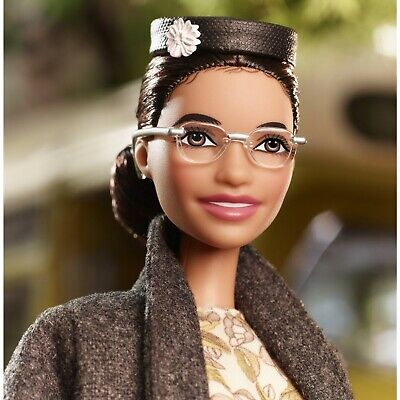 NEW! BARBIE - ROSA PARKS Inspiring Women Doll Limited Edition 2019 Black Label