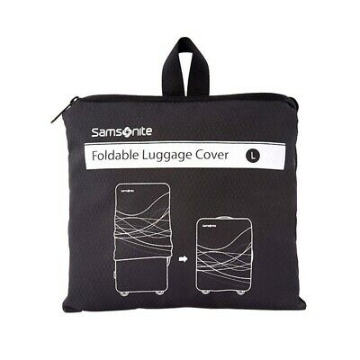 Samsonite Large Foldable Luggage Cover Black