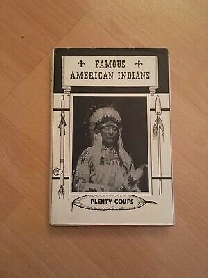 Famous American Indians by G. I. Groves Book Rare 1944 Hardback Plenty Coups Mcm