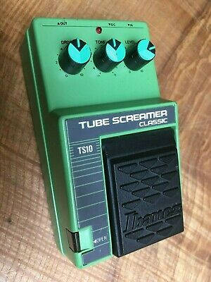 Ibanez TS-10 Tube Screamer Classic Overdrive Effects Pedal Vintage Japan
