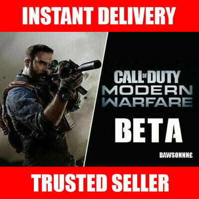 Call of Duty: Modern Warfare Early Access PS4 ONLY BETAs Code