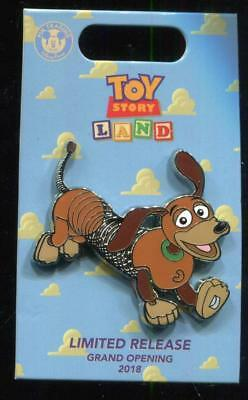 Loungefly Toy Story Land Grand Opening Slinky Disney Pin 128836