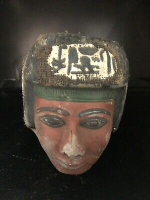 Rare Large Ancient Egyptian Queen Hatshepsut Head  (1403-1365 BC)