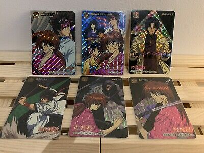 Rurouni Kenshin Carddass Prism Set Part 1 Full 6/6
