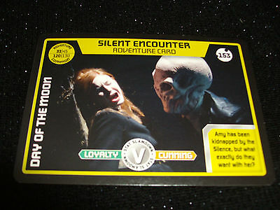 Doctor Who:monster Invasion Trading Card:#0153:Silent Encounter:adventure Card