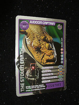 Doctor Who Monster Invasion Trading Card:#007:Judoon Captain(Paul Kasey):Rare!