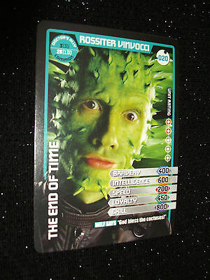 Doctor Who Monster Invasion Trading Card:#020:Rossiter Vinvocci (Lawry Lewin)