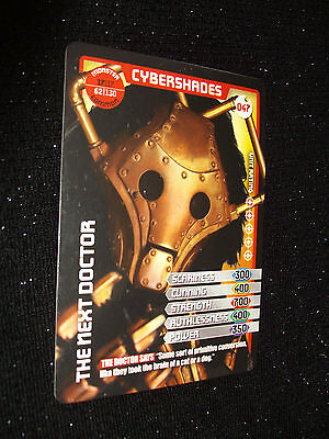 Doctor Who Monster Invasion Trading Card:#047:Cybershades (Ruari Mears):Rare!