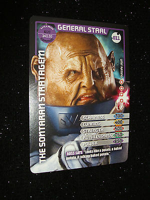 Doctor Who Monster Invasion Trading Card:#011:General Staal (Christopher Ryan)